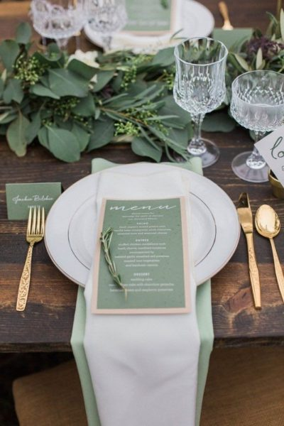 Inspirations for an unforgettable wedding immersed in the green!